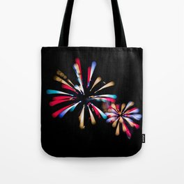 Exploding Colours Tote Bag