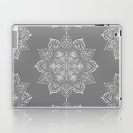 Winter Spirit Gray Laptop & iPad Skin