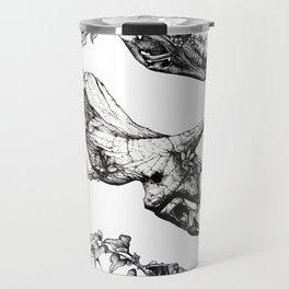 Jurassic Bloom. Travel Mug