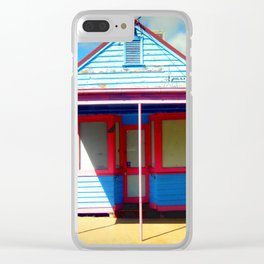 """The """"Retro"""" Shop Clear iPhone Case"""