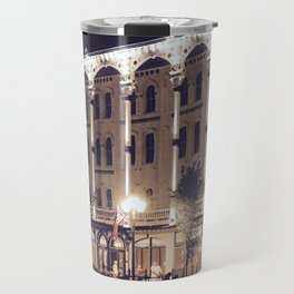Saratoga Springs at Night Travel Mug