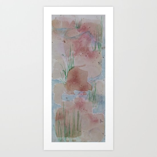 Healing Stream Art Print