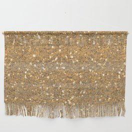 Gold Glitter Wall Hanging