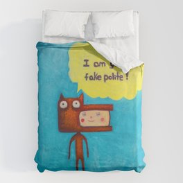 Wolfboy Duvet Cover