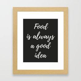The Food Lover II Framed Art Print