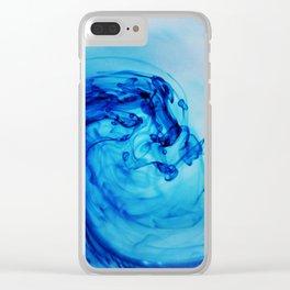 Sea Wave III Clear iPhone Case