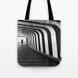 Futuristic Underground Tote Bag