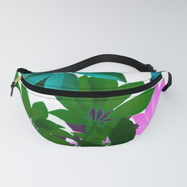 Plant, Leaf Composition Fanny Pack