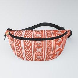 Boho Mud Cloth (Coral) Fanny Pack