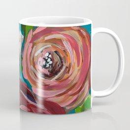 Aqua Bud Coffee Mug
