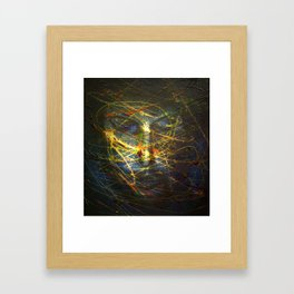 Ghost face 2 Framed Art Print
