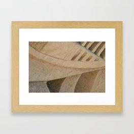 Sand Sculpt Framed Art Print