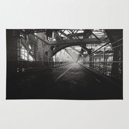 New York City: Williamsburg Bridge Rug
