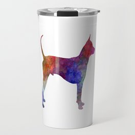 Thai Ridgeback Dog in watercolor Travel Mug