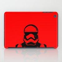 trooper iPad Cases featuring Trooper  by Rabassa