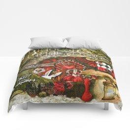 Queen of the Hearts Comforters