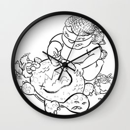 Ninja Master of Planning Wall Clock