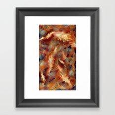 Electricity crush Framed Art Print