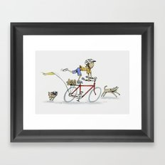 I want to Ride It the Way I Like Framed Art Print
