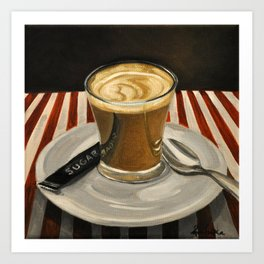Cafe Cortado Art Print