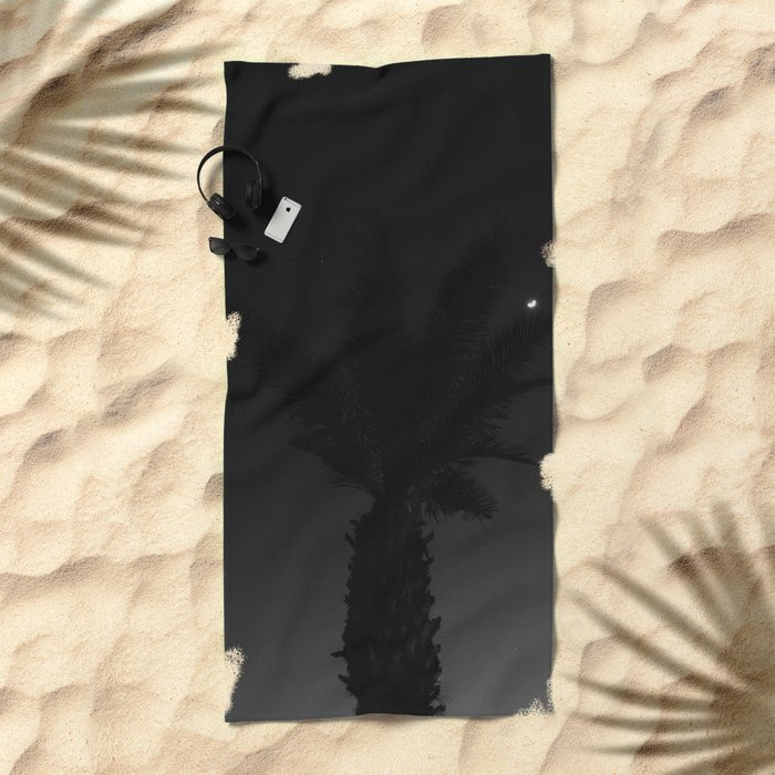 Mexico Moon VII Beach Towel