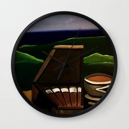 Los Puros y Cafe Wall Clock