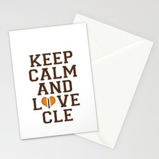 LOVE CLE BROWNS II Stationery Cards