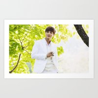 exo Art Prints featuring EXO Kai by TheRmickey