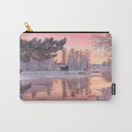 WINTER SCENE-3118/1 Carry-All Pouch