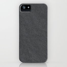 Grey Cloth iPhone Case