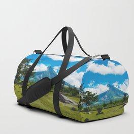 Mayon Volcano Duffle Bag