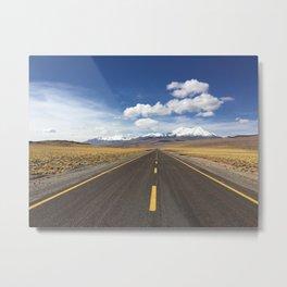 Road to Heavan Metal Print