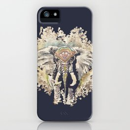 Hindi Elephant iPhone Case