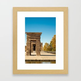 Templo Debod Framed Art Print