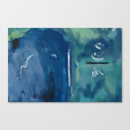 Murky Depths Canvas Print