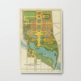 Buffalo World's Fair 1901 Metal Print