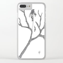 The Flower Promised Me That It Will Not Wither Again Clear iPhone Case