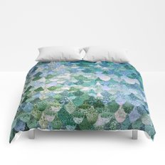 REALLY MERMAID OCEAN LOVE Comforters