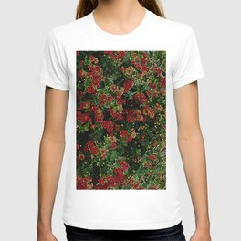 Electrical floral print 1 T-shirt