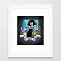 heathers Framed Art Prints featuring Heathers by TheArtofPaigey