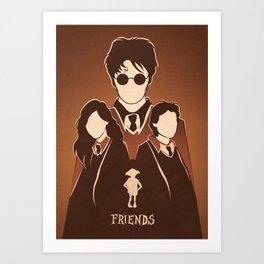 Harry Potter Tribute.  Art Print