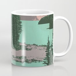 Jasper National Park Poster Coffee Mug