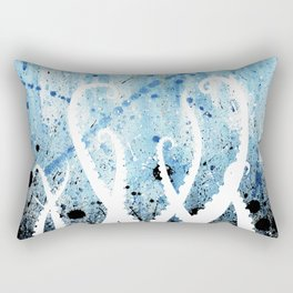 Kraken Watercolor Rectangular Pillow
