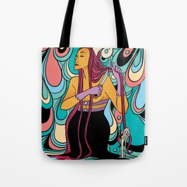 Near Death Experience Tote Bag