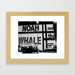 Noah And The Whale Framed Art Print