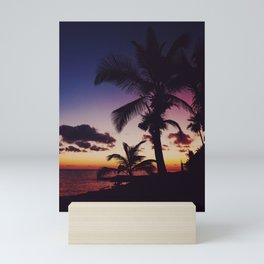 Summer Night Sunset Mini Art Print