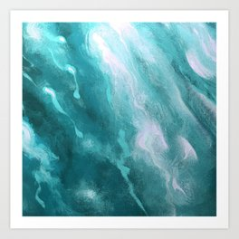 In the Company of Myself: Abstract #1 Art Print