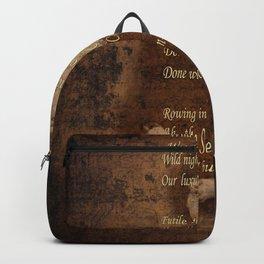 Emily Dickinson 4 Backpack