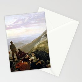 Jerome Thompson Belated Party Mansfield Mountain Stationery Cards