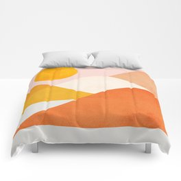 Abstraction_Mountains_Minimalism_001 Comforters